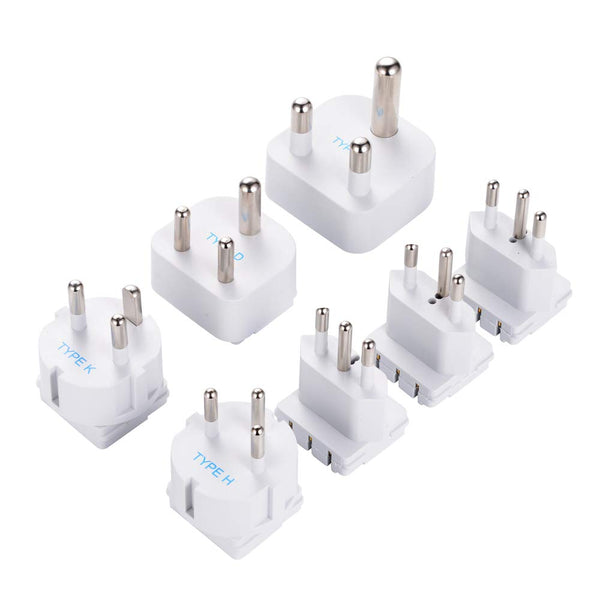 SWadAPt World Travel 7 Adapter Separate Attachment Set for WPS-2B+ - (AT-WPS)
