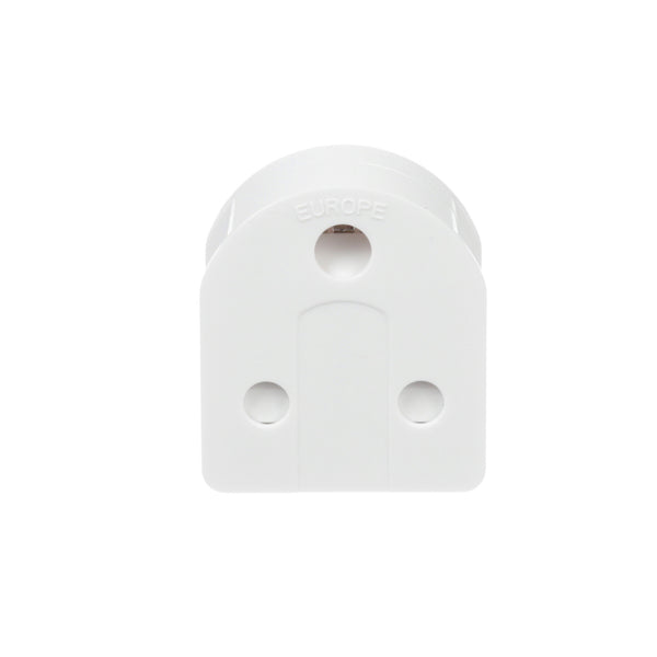 South Africa to Europe Schuko - Type E/F - Travel Plug Adapter - Grounded (SA-EU)