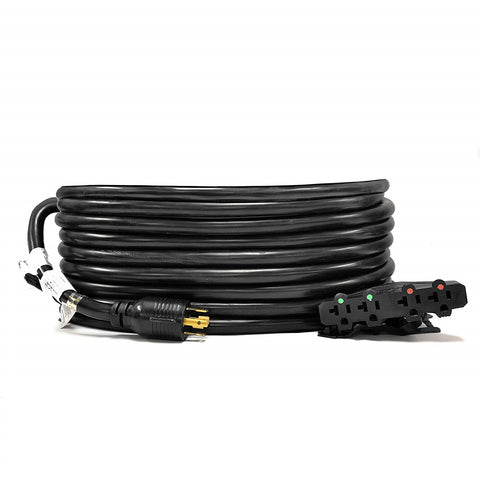 20-Ft 20-Amp Generator Distribution Power Cord (L14-20 to 4x 5-15/20R)