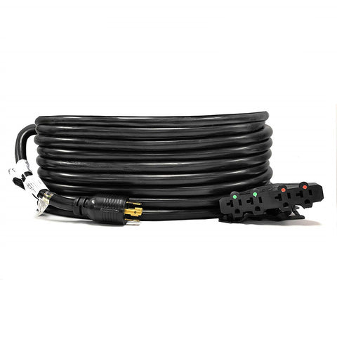 21-Ft 30-Amp Generator Distribution Extension Cord (L14-30 to 4x 5-15/20R)