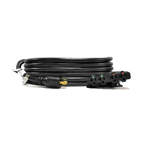 10-Ft 30-Amp Generator Distribution Extension Cord (L14-30 to 4x 5-15/20R)