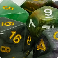 Stone-Look Polyresin Dice