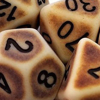 Old-Looking Dice
