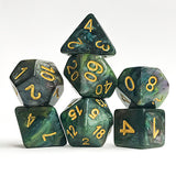 Acid Quartz Dice - 7 Polyhedral Set (Resin)
