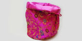 Fuchsia Brocade Dice Bag