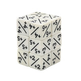 "Magic Counter Dice Set (Set of 12 ""Plus"" Dice) (Acrylic)"