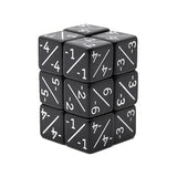 "Magic Counter Dice Set (Set of 12 ""Minus"" Dice) (Acrylic)"