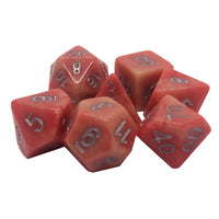 Angus Marbleized Dice - 7 Polyhedral Set (Resin)