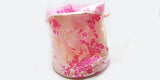 Light Pink Brocade Dice Bag