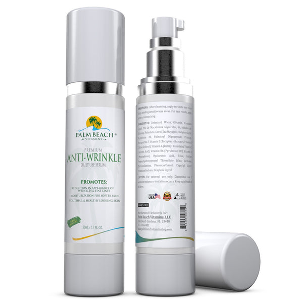 Premium Anti-Wrinkle Daily Use Serum For Youthful Skin Forever