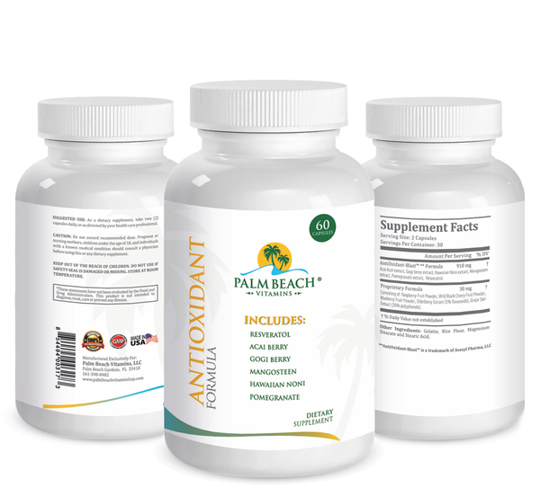 Antioxidant Formula to Boost Immunity and Stay Healthy Forever