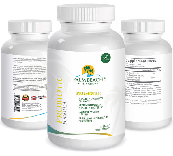Probiotic Formula for Healthy and Happy Digestive System