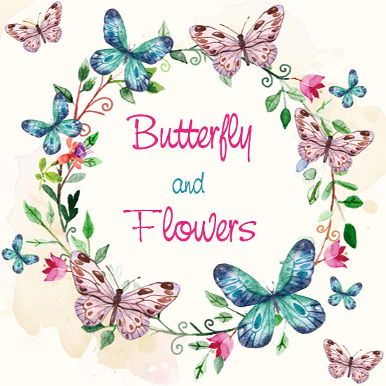 Butterflies and Flowers Collection