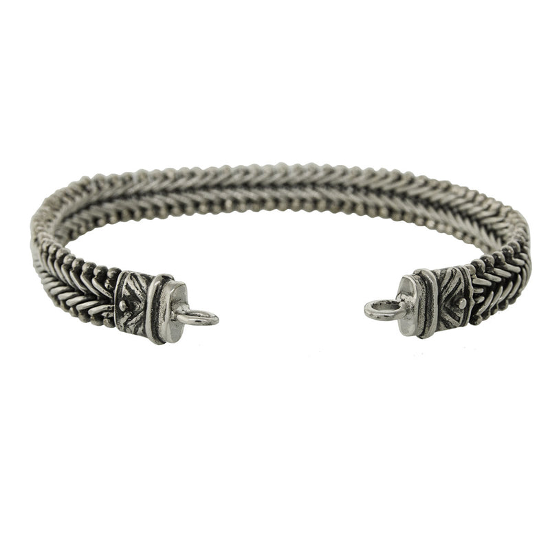 Tabra Jewelry - Silver Bracelet Connector Chain (Small)