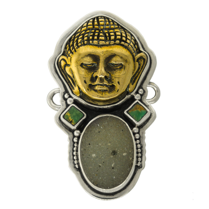 Tabra Antiqued Chinese Brazilian Drusy - Tabra Jewelry