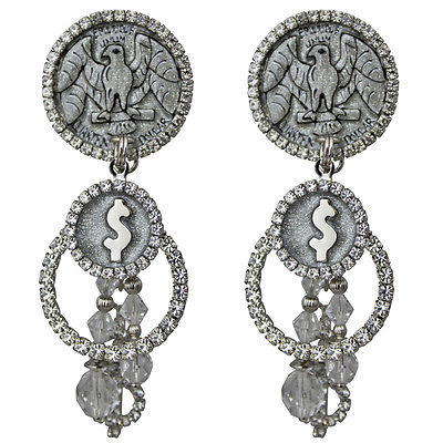 Pocket Change Money Earrings - Earrings For Women