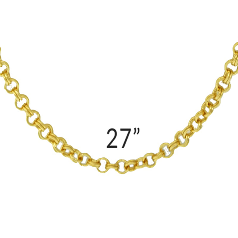 Assortment Necklace Chain For Enhancer Charms - 27""