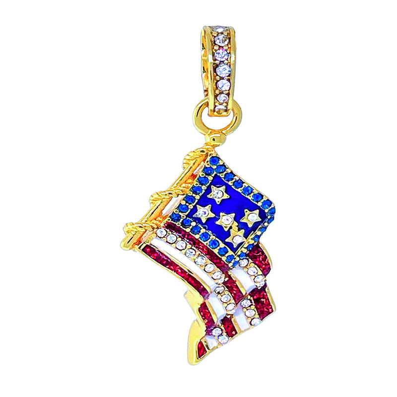Halloween Trick or Treat Candy Corn Earrings - (Goldtone)