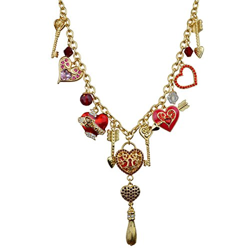 Heart Charm Necklace For women | Arrow Charm Necklace