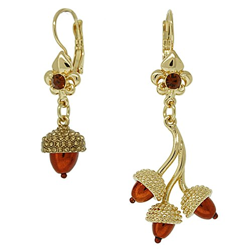 Asymmetrical Fall & Autumn Earrings For Women