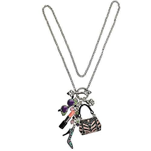 Shopping Deluxe Multi Charm Necklace | Necklace Jewelry