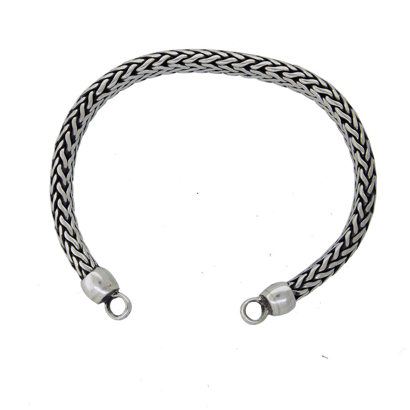 Tabra Bracelet Silver Jewelry Connector Chain Vault