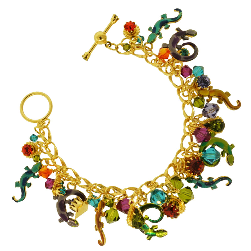 Salamanders Brunch Toggle Bracelet | Lunch At The Ritz