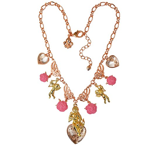 Pink Charm Pendant Necklace | Necklace For Women