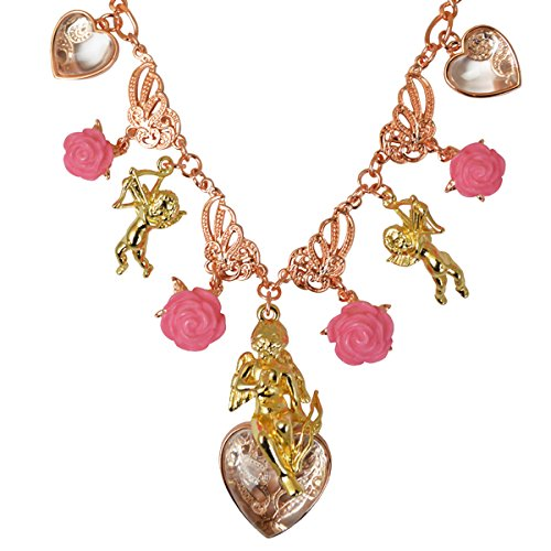 Pink Charm Pendant Necklace - Necklace For Women