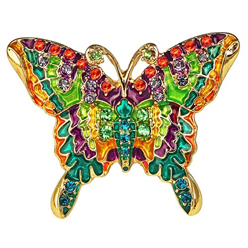 Butterfly Multi Color Charm Ring | Butterfly Ring