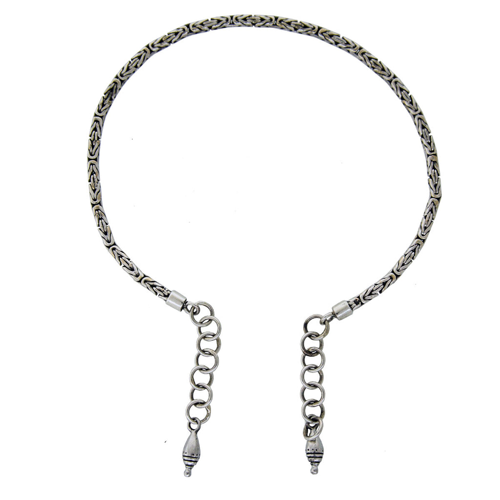 Tabra Jewelry - Sterling Silver Anklet Connector Chain