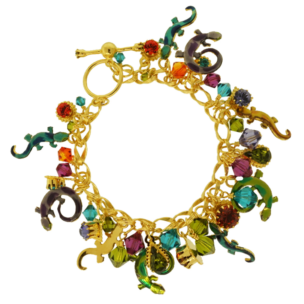 Salamanders Brunch Toggle Bracelet - Lunch At The Ritz
