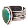 Tabra Jewelry | Sterling Silver Chinese Turquoise Ring