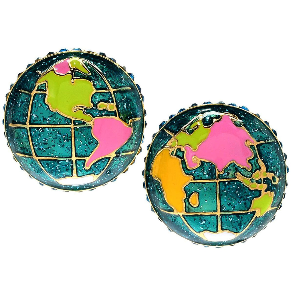 World Around Us Multi Charm Earrings | World Jewelry