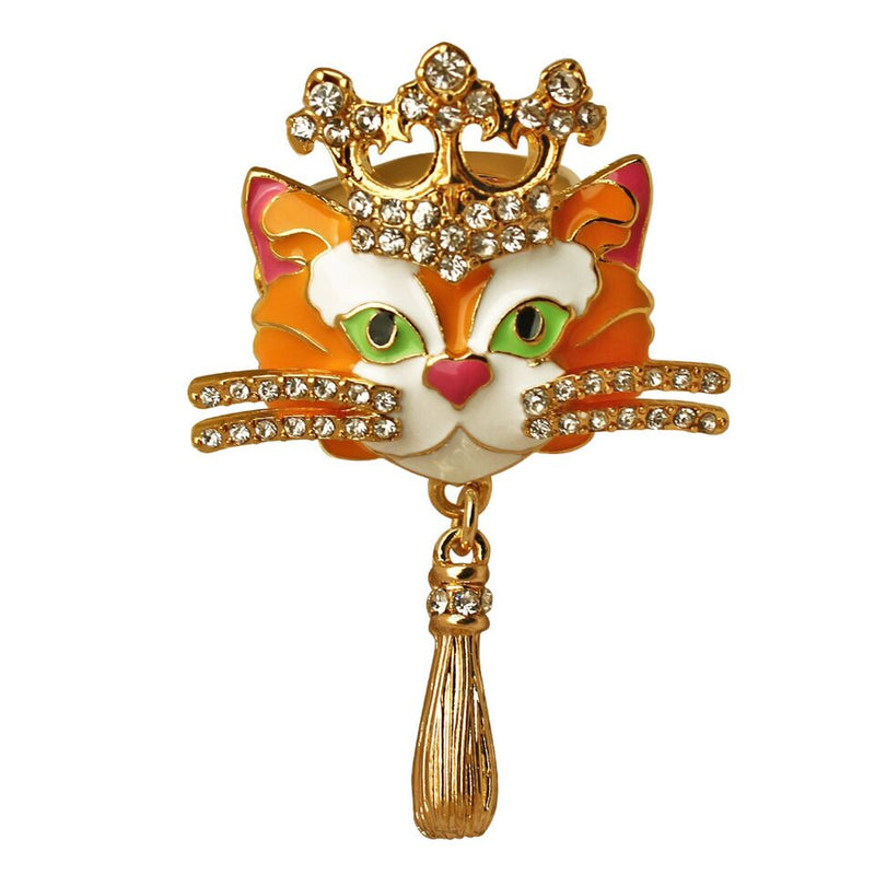 Princess Multi Color Tabby Cat Ring | Cat Rings Jewelry