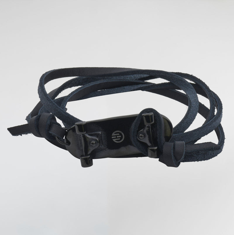 Skateboard Passion Leather Bracelets For Men