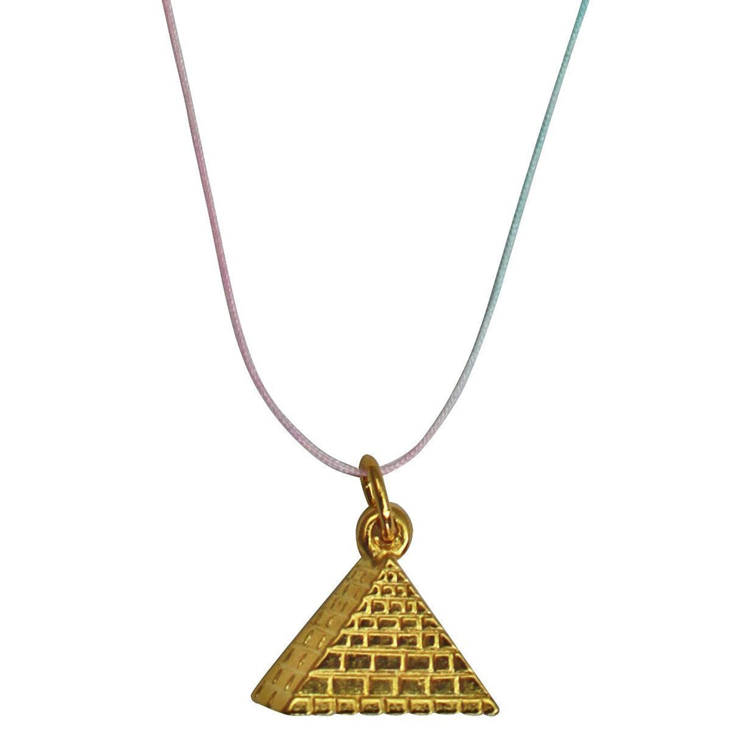 Pyramid Charm Pendant Necklace - Necklace For Women