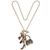 Shopping Accessories Multi Color Charm - Necklace Jewelry