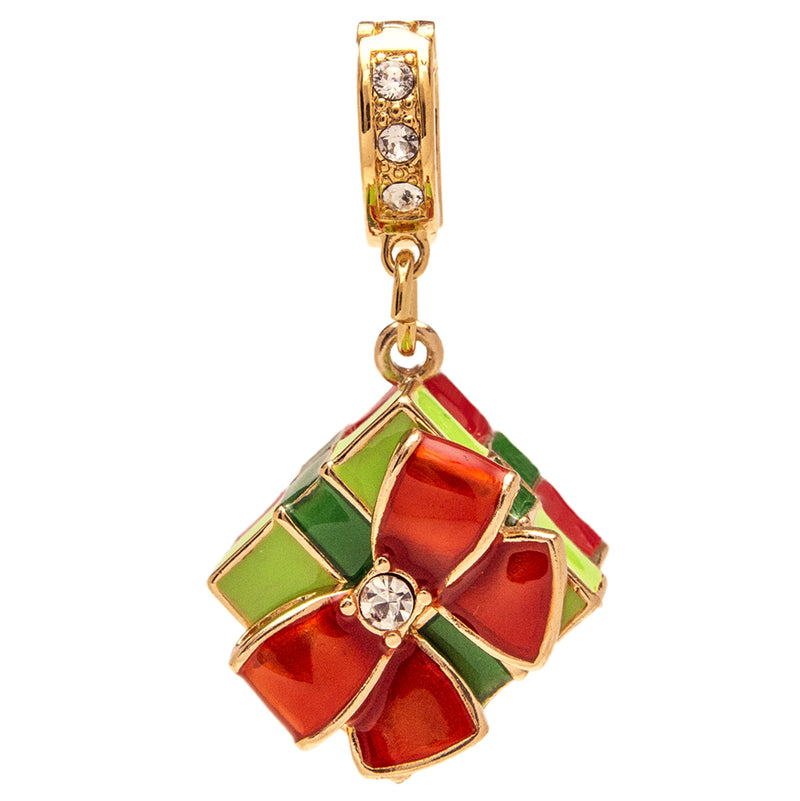 Christmas Gift Charm Enhancer Charm - Charm Jewelry