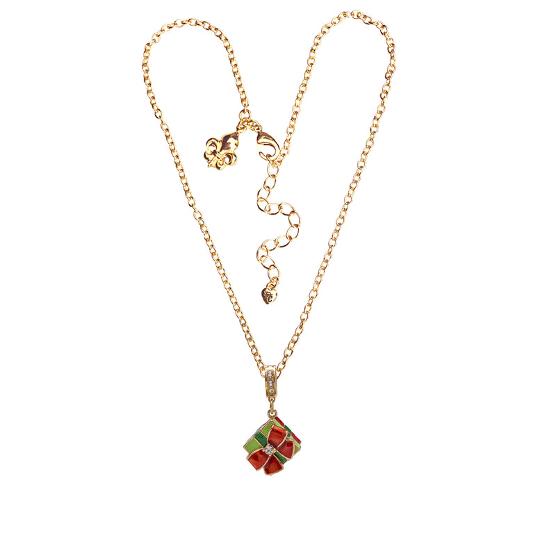 Christmas Gift Charm Enhancer Charm - Charm Jewelry - Necklace Chain