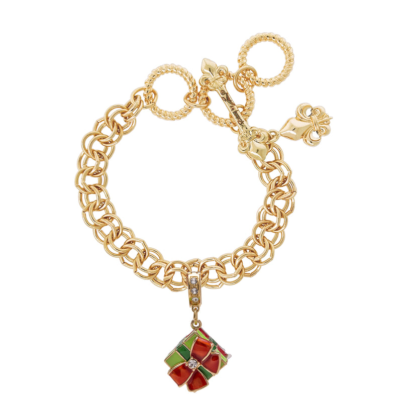 Christmas Gift Charm Enhancer Charm - Charm Jewelry - Bracelet Chain