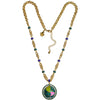 World Around Us Charm Necklace - World Necklace Jewelry