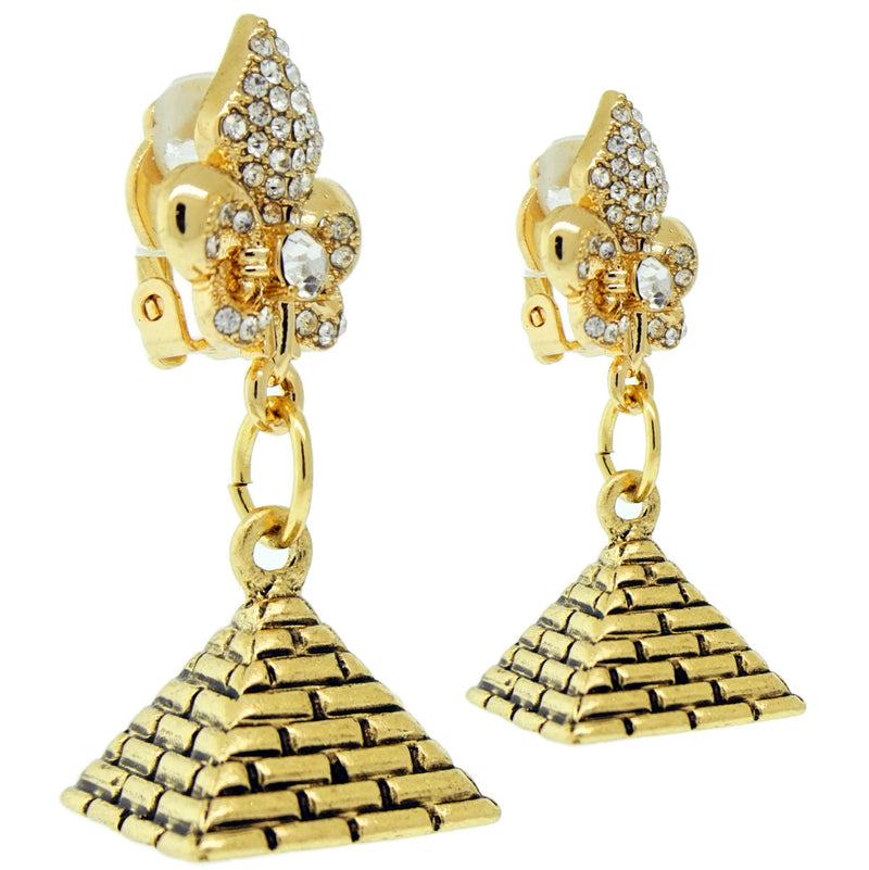 Pyramid Wonder of Giza Travel Earrings | Pyramid Earrings