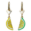 Citrus Fruit & Lemon Dangle Earrings | Jewelry Earrings