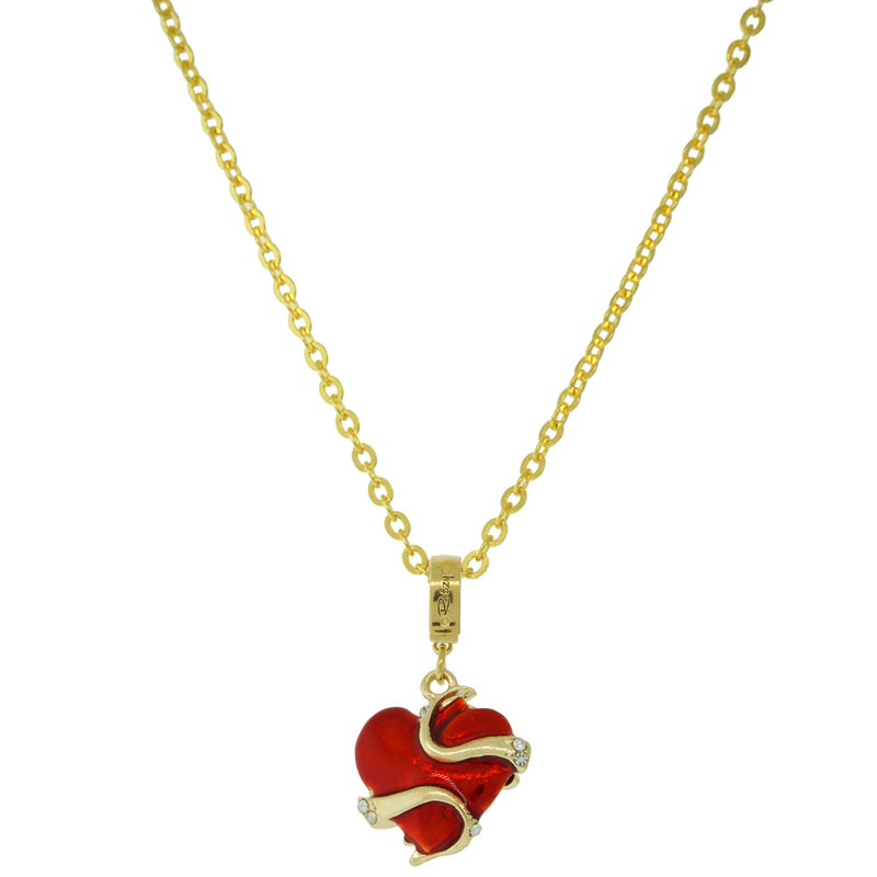Love Heart Necklace With Chain - Love Heart Bracelet