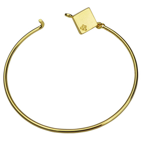"Ritzy ""Couture Select"" Hinged Wire Bangle"