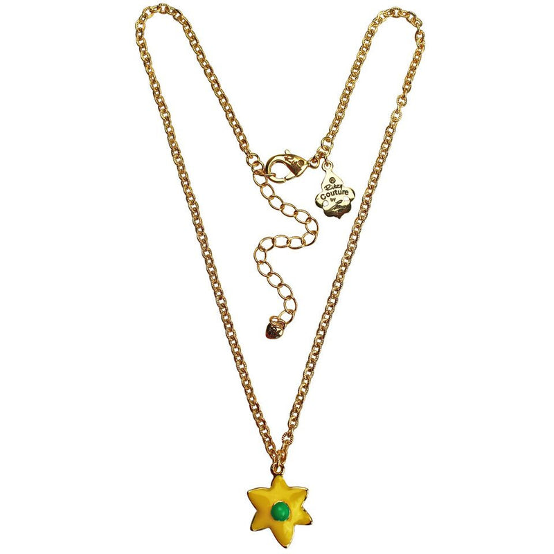 Daffodil Multi Color Charm Necklace - Necklace Jewelry