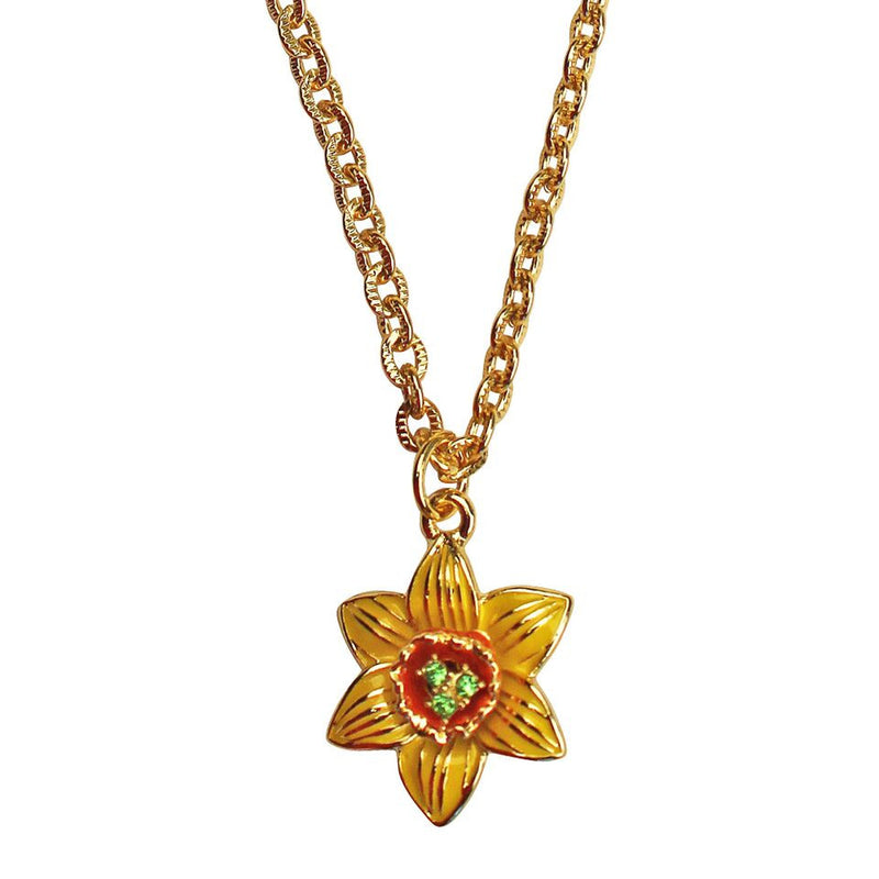 Daffodil Multi Color Charm Necklace | Necklace Jewelry
