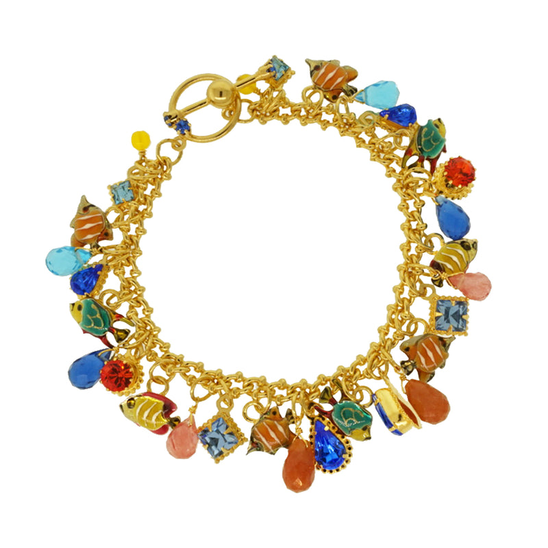 Fishy Washy Toggle Bracelet for women - Lunch At The Ritz