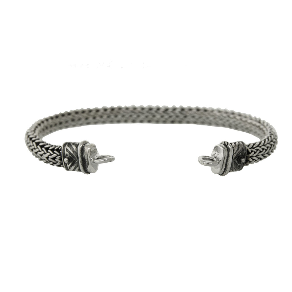 Tabra 925 Sterling Silver Bracelet Connector Chain